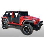 Jeep JK Slim Fenders Front and Rear 078 Wrangler JK 4