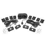 Deluxe LED Rock Light Kit 4 Pods 2