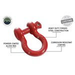 Recovery Shackle 34 475 Ton  Red 4