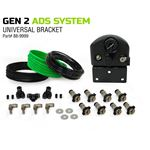 4 Tire Inflation System  Universal With Box Fittings Hoses and Storage Bag  Black 2