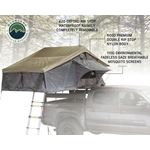 Nomadic 2 Extended Roof Top Tent  Dark Gray Base With Green Rain Fly and Black Cover 2