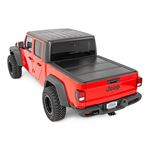 Jeep Low Profile Hard TriFold Tonneau Cover 20 Gladiator 5 Foot Bed 4