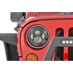 Jeep 7 Inch LED Projection Headlights Wrangler TJ JK 2
