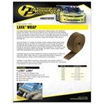 Lava Exhaust Heat Wrap Heat Shield 2 X 25 2