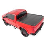 Low Profile Hard TriFold Tonneau Cover 1920 1500 58 Foot Bed 4