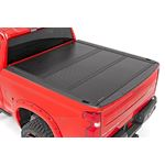 Low Profile Hard TriFold Tonneau Cover 1920 1500 58 Foot Bed 2