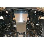 14 18 GM 1500 2WD Front Lower Aluminum Skidplate 2