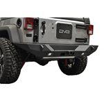 Jeep JK Rear Bumper 078 Wrangler JK w Lights Works w TC 6 Full Length Stubby 4