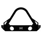 0718 JK Comp Series Front Bumper W Fogs Stinger and Tabs 2
