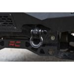 Ford Tow Hook to Shackle Conversion Kit w/D-Ring & Rubber Isolators 09-20 F-150 Rough Country 2