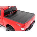 Dodge Low Profile Hard TriFold Tonneau Cover 1920 RAM 1500 QuadMega Cab 55ft Bed WO RAMbox 2