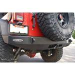 Jeep JK Full Rear Bumper For 0718 Wrangler JK No Tire Carrier Rigid Series 2