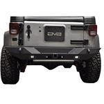 Jeep JK Rear Bumper 078 Wrangler JK w Lights Works w TC 6 Full Length Stubby 2