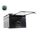 Cargo Box With Slide Out Drawer and Working Station Size  Black Powder Coat 2