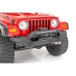 Jeep Full Width Front LED Winch Bumper 8706 Wrangler YJTJ 2