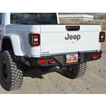 Gladiator Full Rear Bumper For 20Pres Jeep Gladiator No Tire Carrier Rigid Series 2