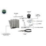 Tire Repair Kit  53 Piece Kit With Black Storage Box 2