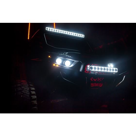 40 Xpr 10w Light Bar 21 Led Tilted Optics For Mixed Beam 2