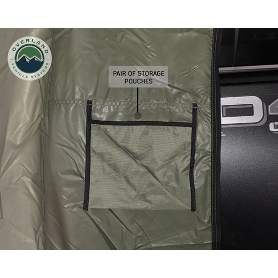 Nomadic 2 Annex  Green Base With Black Floor and Travel Cover 4