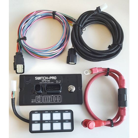 SP9100 8SWITCH PANEL POWER SYSTEM