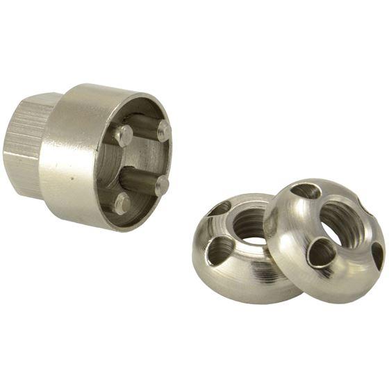 Anti-Theft Locking Nut M10 X 2pcs 1 Tool 4