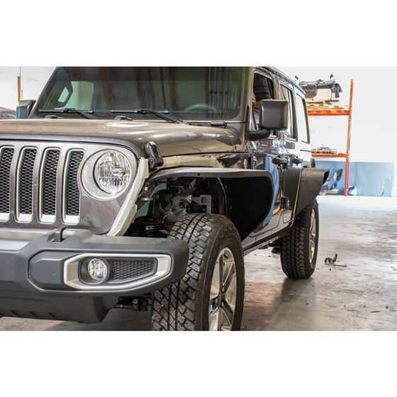Jeep JL Wide Flat Fenders Set of 48 Present Wrangler JL 4