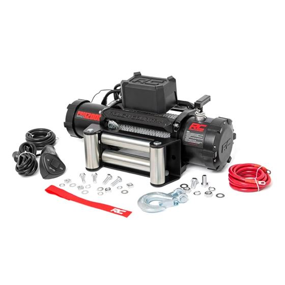 100 LB Electric Winch Steel Cable Pro Series 2