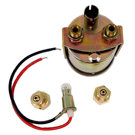 Dual Needle 160 Psi PanelMount Illuminated Pressure Gauge 1023 2