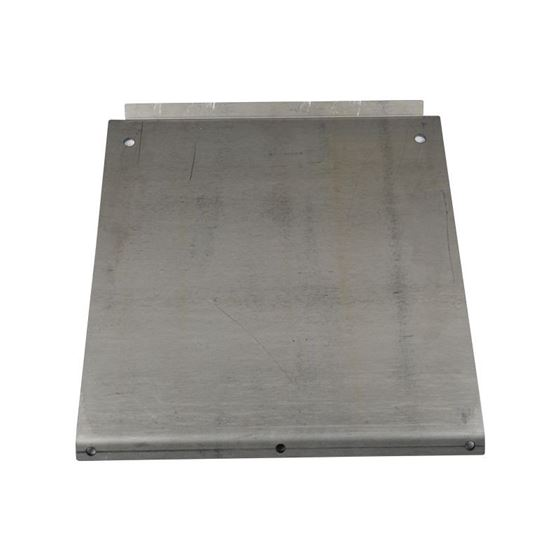 9504 Toyota Tacoma Steel Transmission Skid Plate Black Powdercoat 2