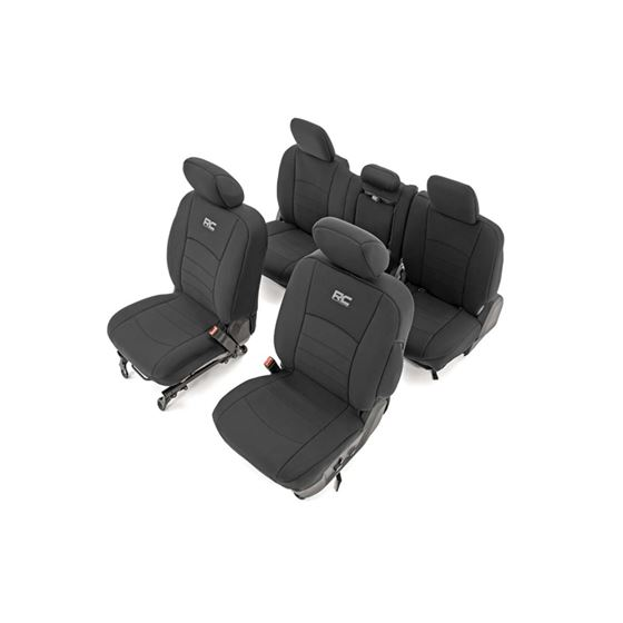 Dodge Neoprene Front and Rear Seat Covers 0918 RAM 1500 2