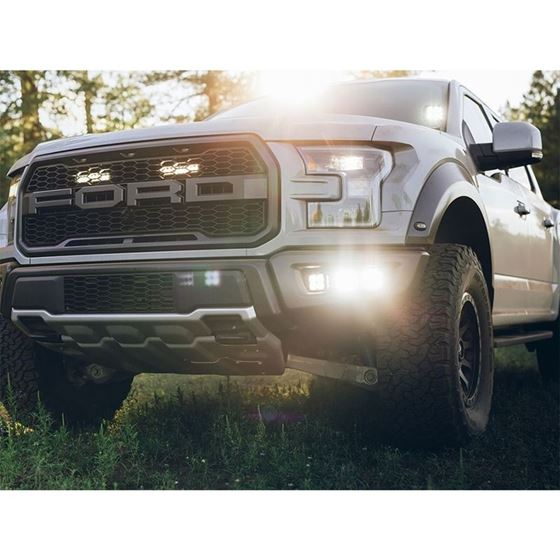 20172018 FORD RAPTOR FOG LIGHT KIT INCLUDES MOUNTS and 6 DSERIES 2