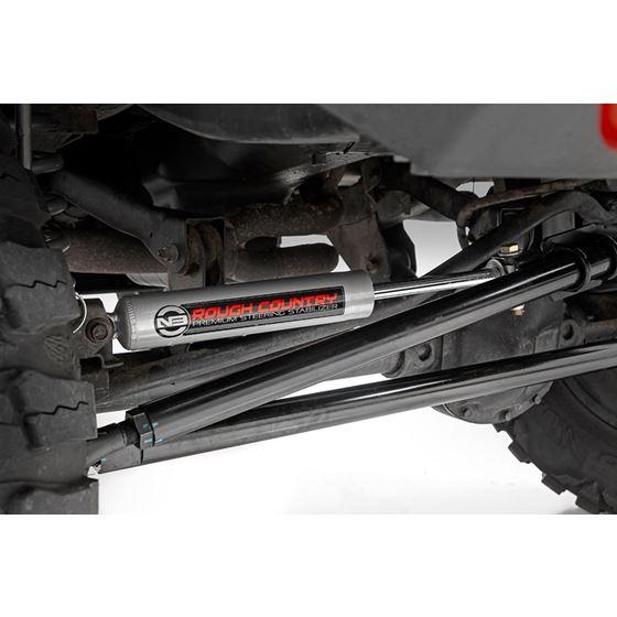 Jeep HD Steering Upgrade Kit w/Steering Stabilizer TJ, XJ ...