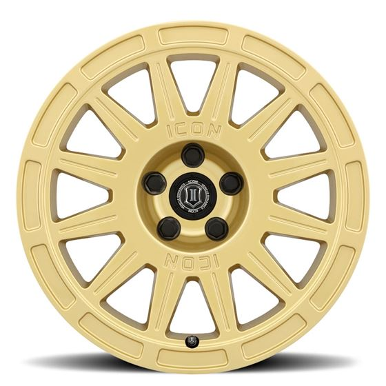 "15"" Icon Alloys Ricochet Gloss Gold 2"