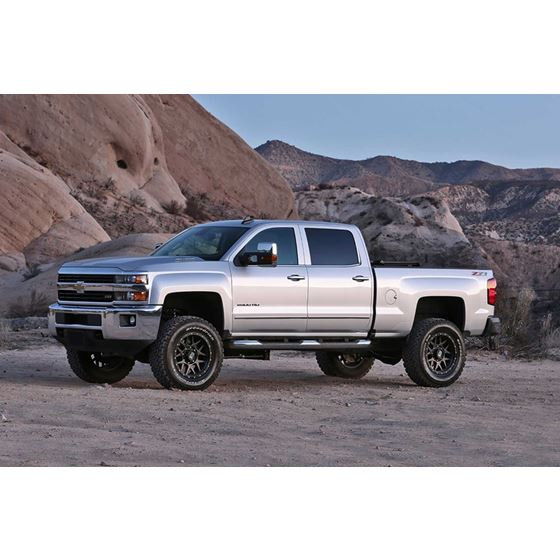 """4"""" BASIC SYS W/PERF SHKS 2011-18 GM 2500HD 2WD/4WD"""