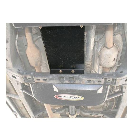 05Present Toyota Tacoma Transmission Skid Plate Black Powdercoat 4