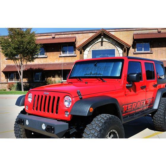 Jeep JK Windshield Sun Shade 07-18 Wrangler JK TeraFlex-2