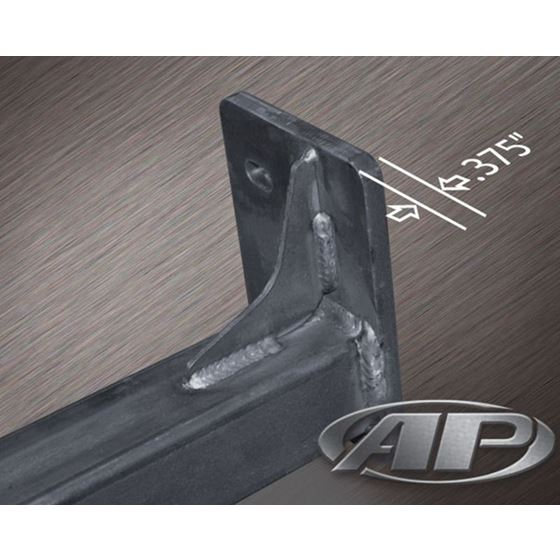 FJ Cruiser Rock Sliders 600 Inch Bare without Fill Plates 0614 Toyota FJ Cruiser 4