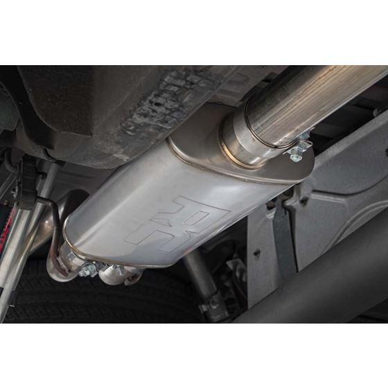 Dual CatBack Exhaust System wBlack Tips 1418 SilveradoSierra 1500 53L 4