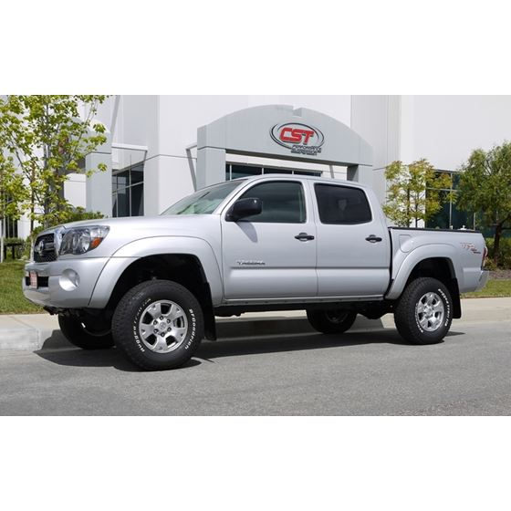 05 19 Toyota Tacoma PreRunner 6 Lug 2WD 35in Lift Spindle Kit Fabricated 2