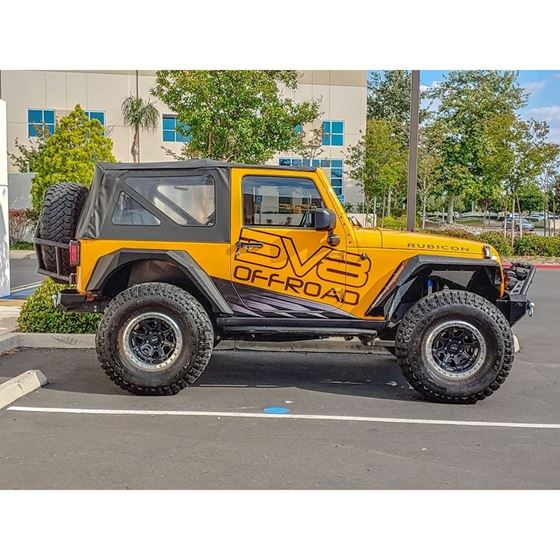 Jeep JK Bolt On Armor Style Fenders Front and Rear 2 4 Door 4
