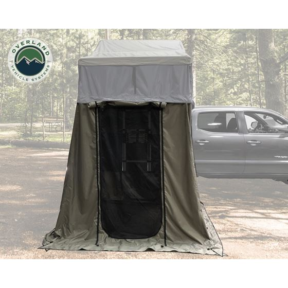Nomadic 2 Annex  Green Base With Black Floor and Travel Cover 2