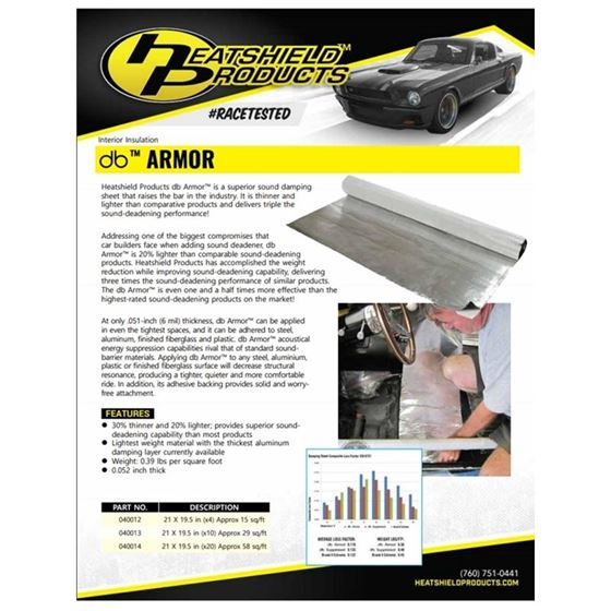 Exhaust Pipe Heat Shield Armor 1 4 Thick 6 W X 10 L 2