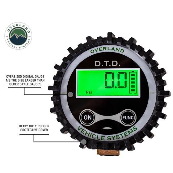 Digital Tire Deflator with Valve Kit and Storage Bag 2