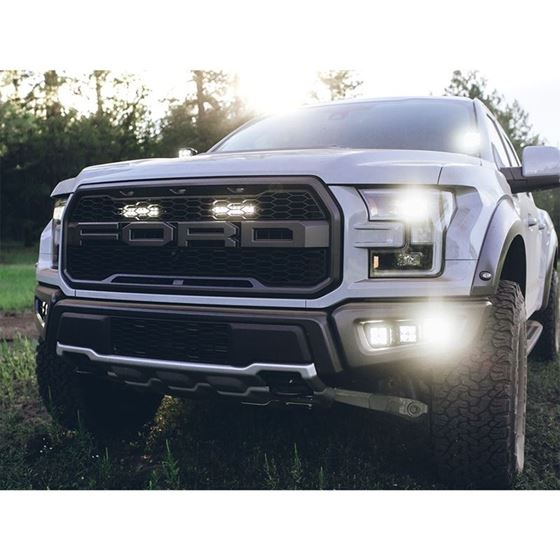 20172018 FORD RAPTOR FOG LIGHT KIT INCLUDES MOUNTS and 6 DSERIES 4