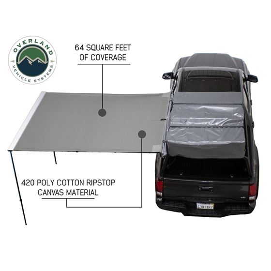 Nomadic Awning 20  65 With Black Cover 2