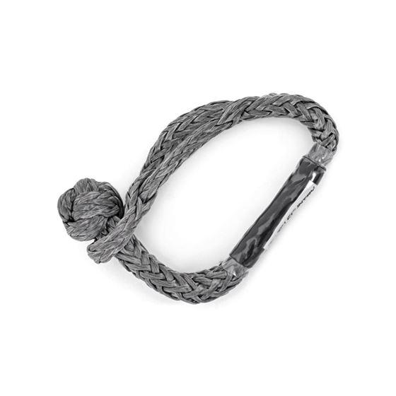 Soft Shackle Rope 716 Inch Diameter 34000 LB Breaking Strength Gray 2
