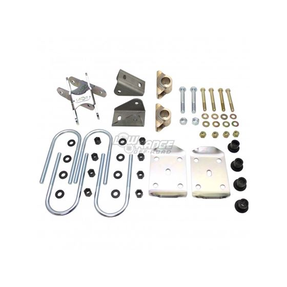 Rear Toyota to Chevy Spring Swap Kit 2