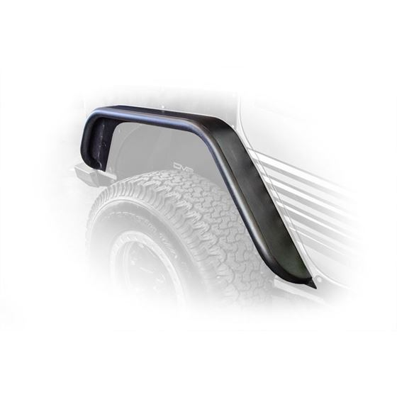 Jeep JK Flat Tube Fenders Front and Rear 078 Wrangler JK 2