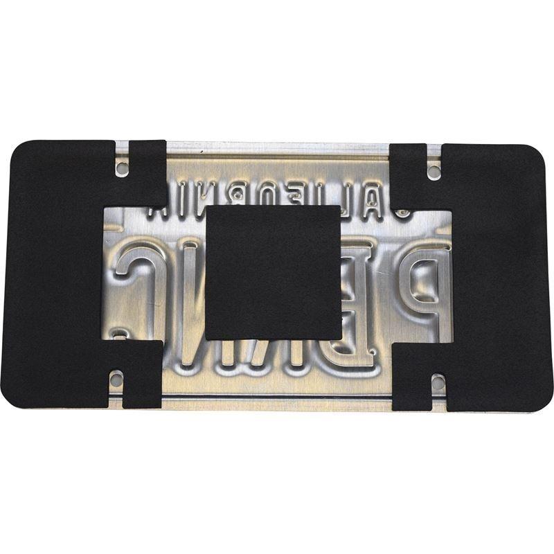 License Plate Shield Kit Anti-Rattle/Anti-Scratch