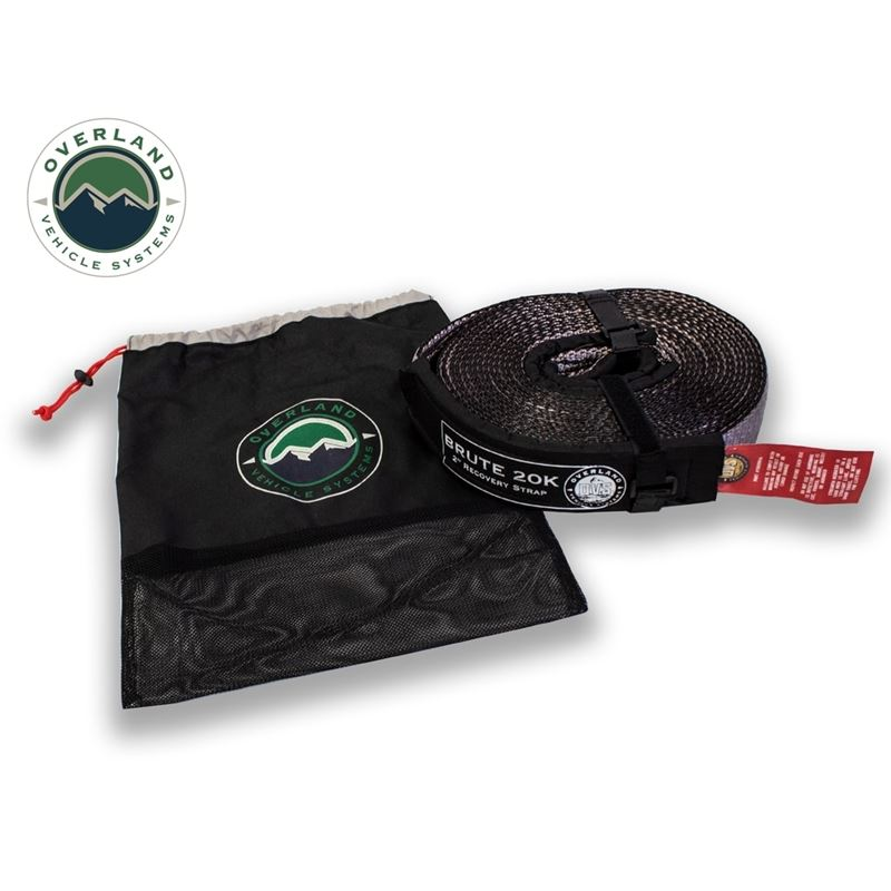 """Tow Strap 20,000 lb. 2"""" x 30"""" Gray With"""